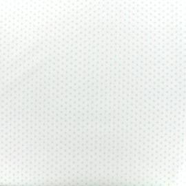 Tissu Poppy Graphics Stars - vert d'eau/blanc x 10cm