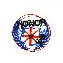 Iron on patch rock attitude - honor