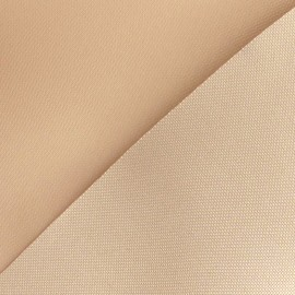 Polyester Canvas Fabric - Beige x 10cm
