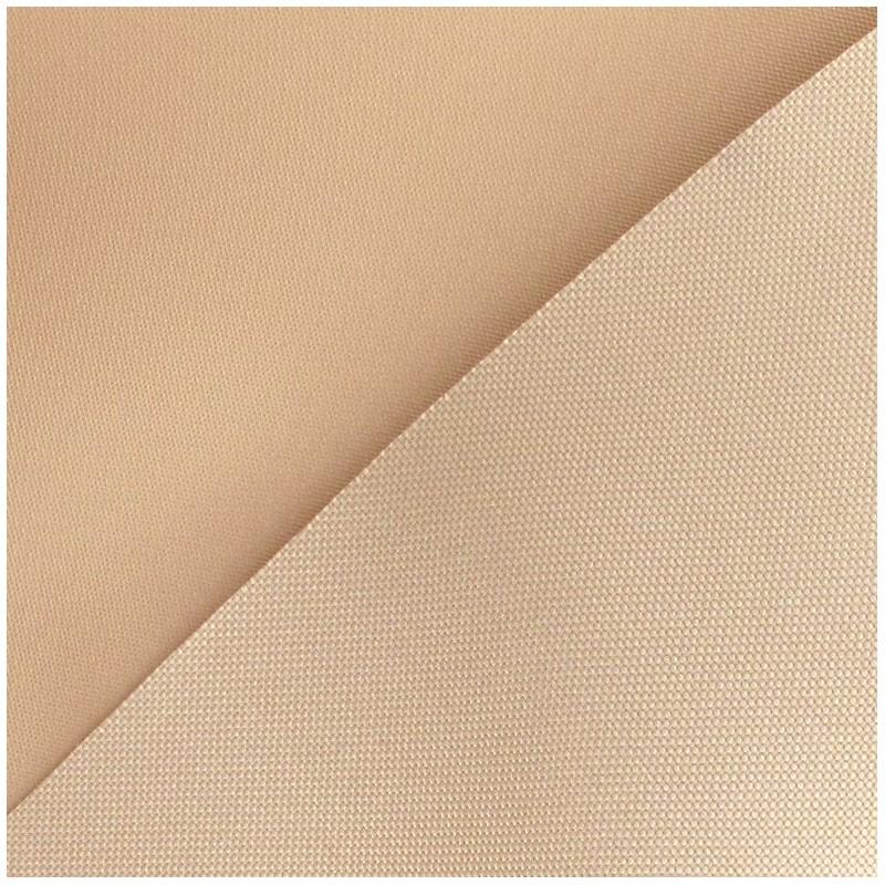 tissu toile polyester beige x 10cm ma petite mercerie. Black Bedroom Furniture Sets. Home Design Ideas