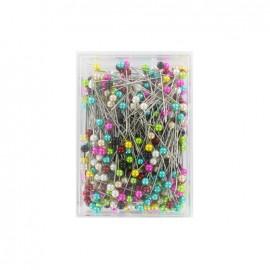 Épingles à tête plastique - boite de 450