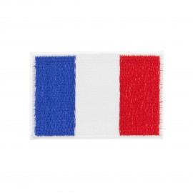 Thermocollant drapeau tricolore français - petit format