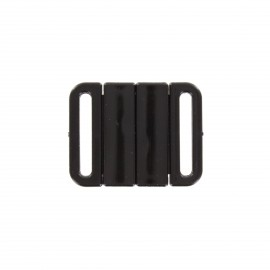 fastener sport bra - clear square