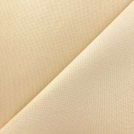 Polyester canvas Fabric - cream x 10cm
