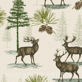 Tissu Hoffman fabrics Rustic Refined - natural x 61cm