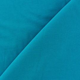 Tissu viscose chemisier - bleu pétrole x 10cm