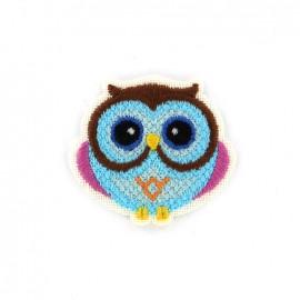 iron on patch canvas animal - owl