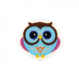 Thermocollant canevas animaux - hibou