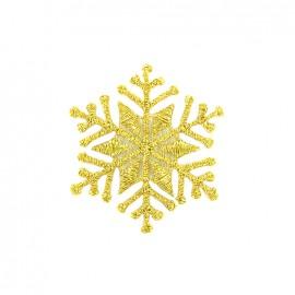 Thermocollant cristal de glace - doré