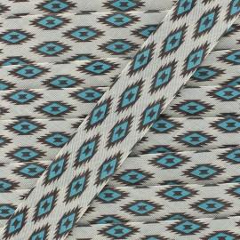 Bias Tikal 20 mm - blue x 1m