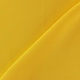Tissu viscose chemisier - jaune d'or x 10cm
