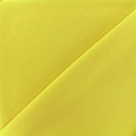 Blouse Crepe Fabric - light yellow x 10cm
