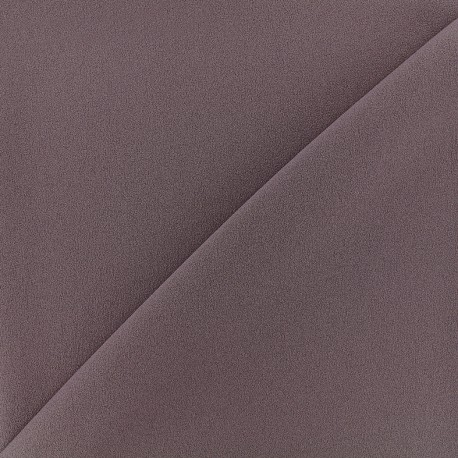 Blouse Crepe Fabric - dark parma x 10cm