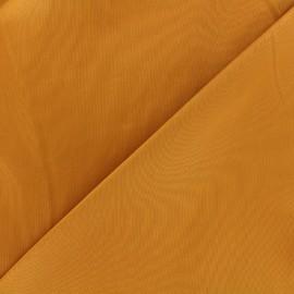 Tissu Gabardine Lycra satiné - citrouille x 10cm