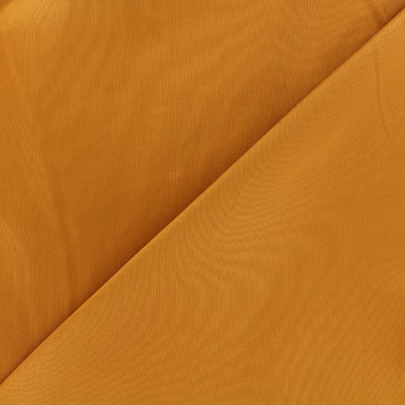 Satiny Lycra Gabardine Fabric - pumpkin x 10cm