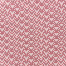 Cretonne Cotton Fabric Sushis - pink x 10cm
