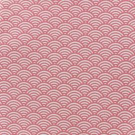 Cretonne Cotton Fabric Sushis - pink x 10cm
