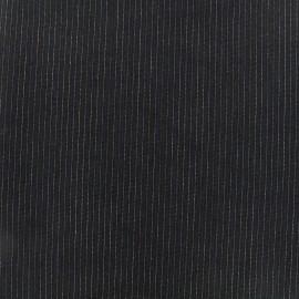 ♥ Coupon tissu 70 cm X 150 cm ♥ tailleur mini rayures - Léon