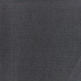 ♥ Coupon tissu 20 cm X 150 cm ♥ tailleur mini zigzag - noir