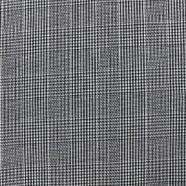 Tailor Fabric mini Pied de Poule - gris x 10cm