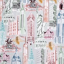 Cotton fabric Dream Vacation - bright x 59cm