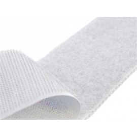 Ruban Auto-agrippant adhésif Velcro® blanc x 1m