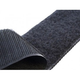 Velcro® sticky tape 20 mm - black