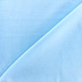 Tissu voile de coton - ciel x 10cm