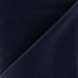Poplin Fabric - dark blue x 10cm