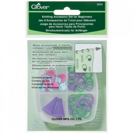 Knitting accessory set for beginners Clover