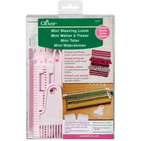 ♥ Mini weaving loom - Double - Clover ♥