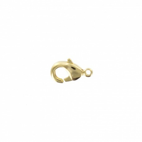Lobster claw clasp 9.5 mm - gold