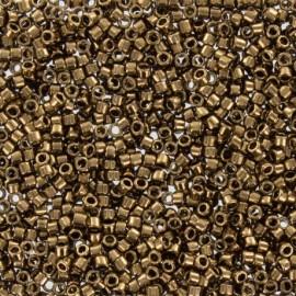 Perles de rocaille TOHO 11/0 X3g N°221 - Laiton brillant