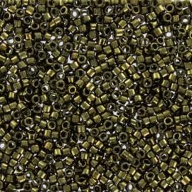 Perles de rocaille TOHO 11/0 X3g N°422 - Bois galvanisé
