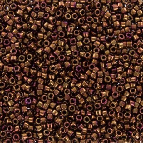 Perles de rocaille TOHO 11/0 X3g N°501 - Roux brillant