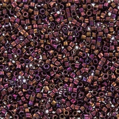Perles de rocaille TOHO 11/0 X3g N°502 - Li de vin galvanisé