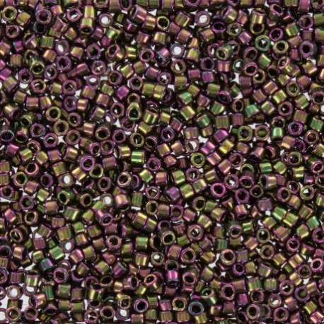 Perles de rocaille TOHO 11/0 X3g N°509 -Grenat irisé