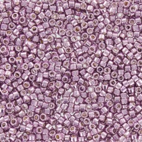 Perles de rocaille TOHO 11/0 X3g N°554 - Lilas mauve galvanisé