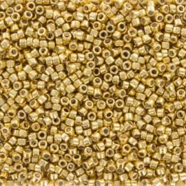 Perles de rocaille TOHO 11/0 X3g N°557 - Doré galvanisé
