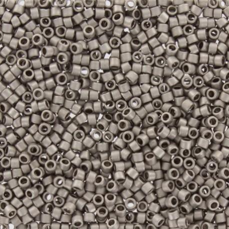 Perles de rocaille TOHO 11/0 X3g N°566 - Taupe galvanisé