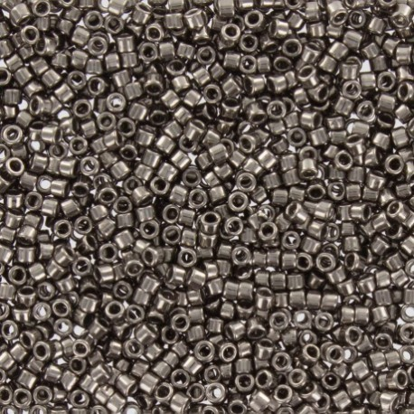 Perles de rocaille TOHO 11/0 X3g N°602 - Plomb galvanisé
