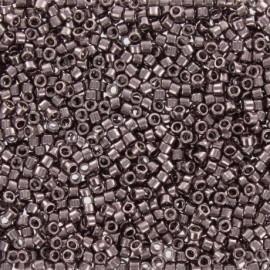 Perles de rocaille TOHO 11/0 X3g N°605 - Taupe rosé brillant