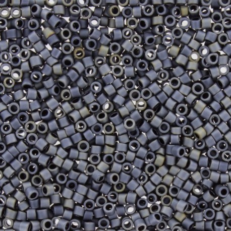 Perles de rocaille TOHO 11/0 X3g N°612 - Fer galvanisé
