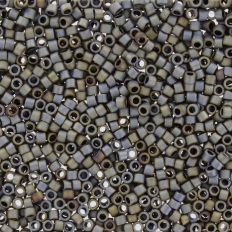 Perles de rocaille TOHO 11/0 X3g N°613 - Acier galvanisé