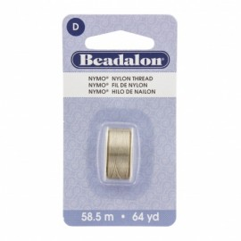 Beadalon Nymo Thread Size D 64 yd.