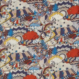 Tissu Liberty - Land of dreams C x 10cm