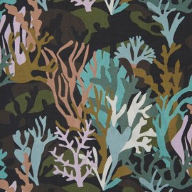 Liberty fabric - Caoral camo A x 10cm