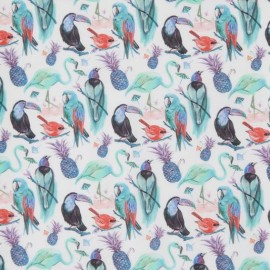 Tissu Liberty - Birds of paradise B x 10cm