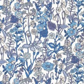Tissu Liberty - Flowers C x 10cm
