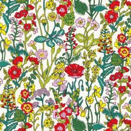 Tissu Liberty - Flowers A x 10cm